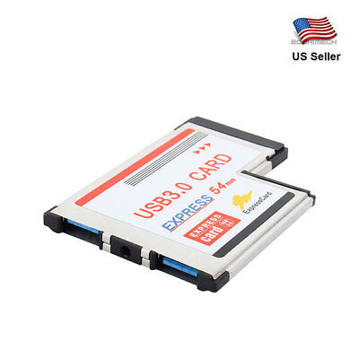 PCI Express Card to USB 3.0 2 Port Adapter 54 mm Converter