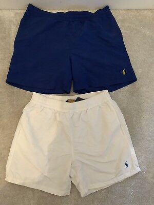 2 Pairs of Mens Ralph Lauren Swim shorts size medium