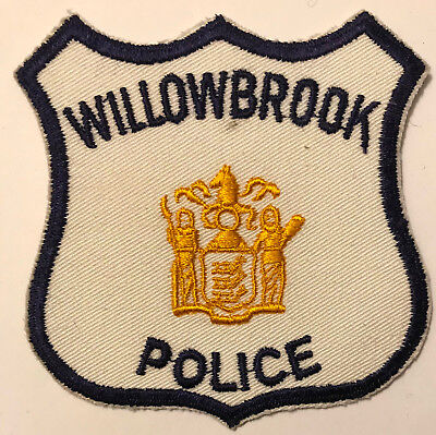 Willowbrook New Jersey NJ Police Sheriff Patch