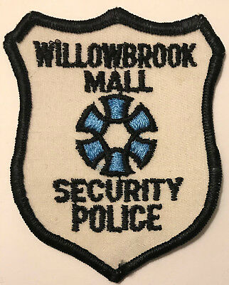 Willowbrook Mall Wayne Passiac County New Jersey Security Police Sheriff Patch