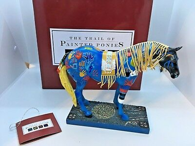 Blue Medicine - Trail of the Painted Ponies figurine - 7E/3792