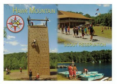 2011 Schuylkill Haven PA Hawk Mountain Scout Reservation Postcard
