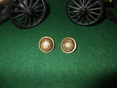 Maryland State Coat Button Lot of 2 - Civil War or Post Civil War Era