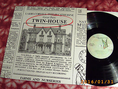 CORYELL / CATHERINE - Twin-House  LP 1977 > JAZZ  ACOUSTIC DUO >>> TOP VINYL !!!