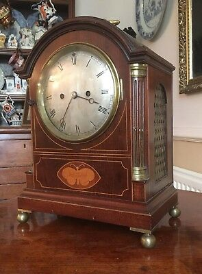 Antique Double Fusse Bracket Clock