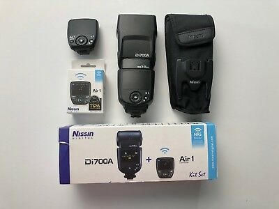 Nissin  Di700A Shoe Mount Flash + Air 1 Commander for  Sony