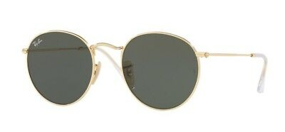 Rayban 5021 Gold Frame Used With Case And Lense Cleaner