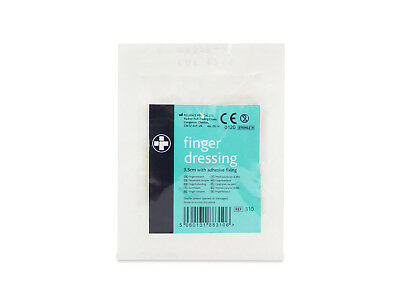 Reliance Medical Finger Dressings with Adhesive Pad 3.5cm - Sterile