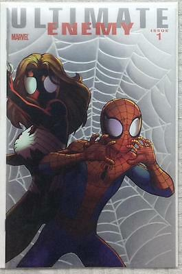 Ultimate Enemy #1 retailer incentive 1 for 25 (2010 Marvel)  NM foil issue RARE.
