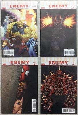 Ultimate Enemy #1 - #4 complete series (2010 Marvel) FN - NM condition