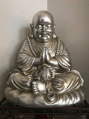 Fat Happy Lucky Buddha Statue Sitting Laughing Budai Good Luck Wealth