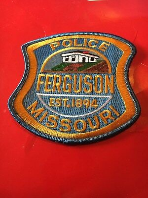 Ferguson Missouri Police Patch