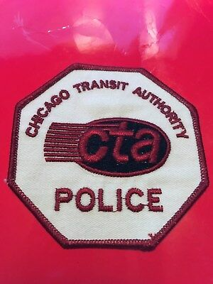 Chicago Area Railroad Police patch Version 2