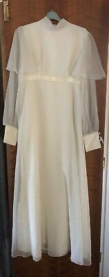 Vintage Wedding Dress Small UK 10 C1960's