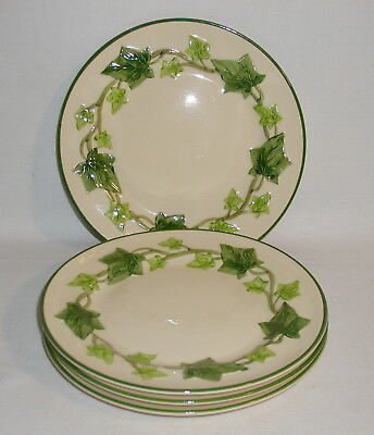 "Dishes - Franciscan Ivy ""I Love Lucy"" Salad Plates (4)"