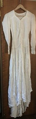 Vintage Wedding Dress Small C1930/40