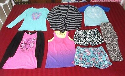 8 Items Girls Size 12, See Photos And Description