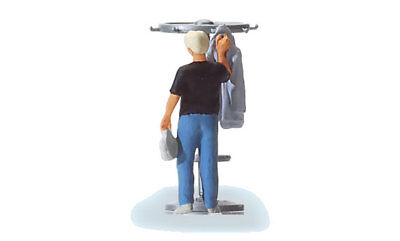 HO Scale People - Man Hanging up His Jacket