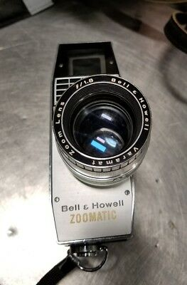 Three!! 3-Bell and Howell zoomatic director series