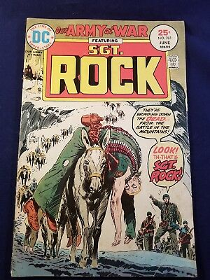OUR ARMY AT WAR (1952 series) #281 GD/VG 3.0 DC COMICS NO RESERVE JOE KUBERT ART