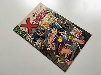X-Men #38 - MARVEL 1967 - Origins of X-Men - backup stories begin!