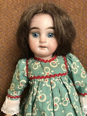 10 1/2 Inch AM Dep 1894 6/0 Bisque Head Doll Tiny Ball Jointed Body