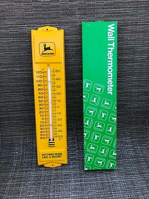1970's John Deere Thermometer NOS w/ Box Vintage TRACTOR