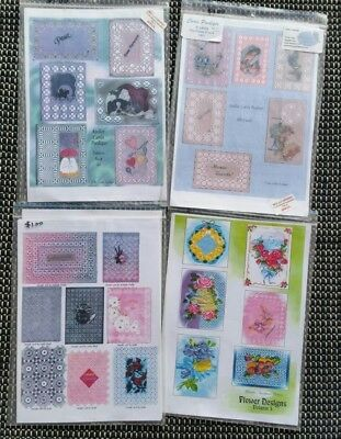Vellum Patterns for Card Making x 4 Packs