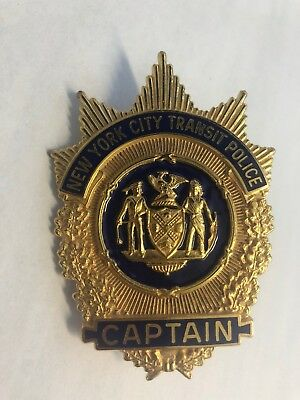 New York City Transit Captain Badge Obsolete