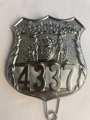 New York City Police Badge Obsolete