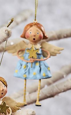 Lori Mitchell™ Babes in Toyland Girl Angel Ornament Christmas Religious 11114-G