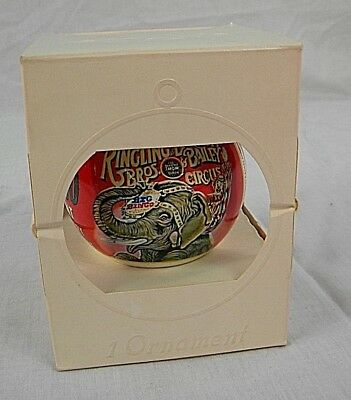 Vintage Ringling Brothers, Barnum And Bailey Ornament, 1962