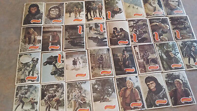 Planet of The Apes TV Show 29 x Trading Cards