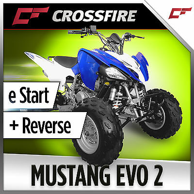Crossfire Mustang 250cc Sports Quad Bike ATV  Same Size Yamaha Raptor 250