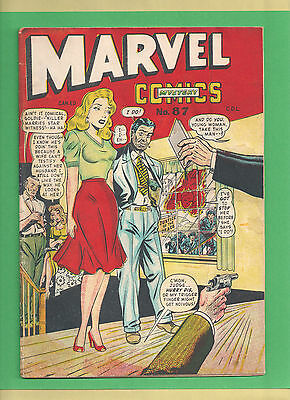 MARVEL MYSTERY COMICS (Canadian Edition) # 87 in Very Nice Condition !