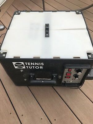Tennis Tutor Ball Machine with Oscillator All Working with Charger