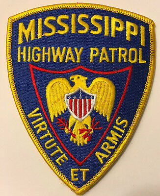 Mississippi Highway Patrol State Police Trooper Sheriff Patch