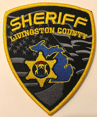 Livingston County Sheriff Michigan MI Police Sheriff Patch