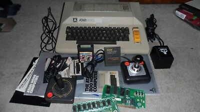 Atari 800 computer--in  Great shape,Tested and working!!- Joysticks,manuals+++