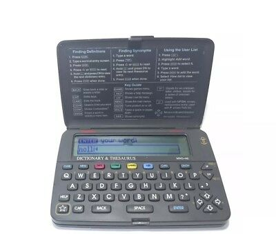 Franklin Bookman MWD-440 Dictionary/Thesaurus Electronic Good Condition