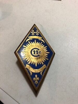 French Indochina 11th Cuirassiers Insignia Badge