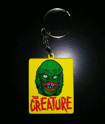 KEYCHAIN - The Creature from the Black Lagoon HORROR / Monster - zipper pull tag