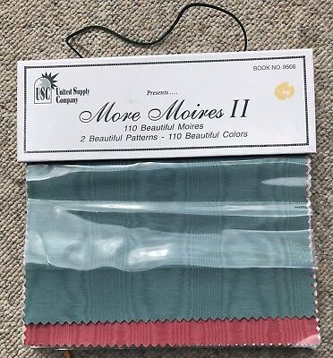 United Supply Company More Moires II - 110 Beautiful Colors - 2 Patterns