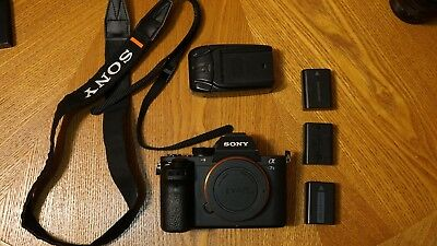 Sony Alpha a7S II Mirrorless Digital Camera (Body, 3 Batteries, Charger)