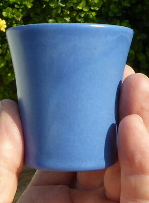 """Vintage """"CATALINA ISLAND POTTERY"""" Blue Cup or Vase"""