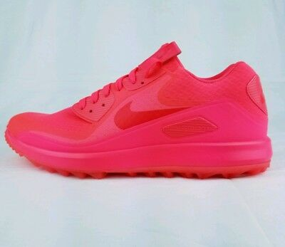 buy popular aad66 0595c NIKE AIR ZOOM 90 IT Golf Shoes Solar Red Neon Pink Rory SZ 10.5 (  844569-601 )