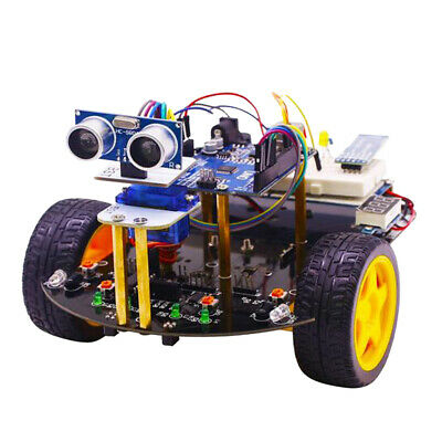 Yahboom Smart robot Car and Starter Kit 2in1 For Arduino UNO Tracking Tool