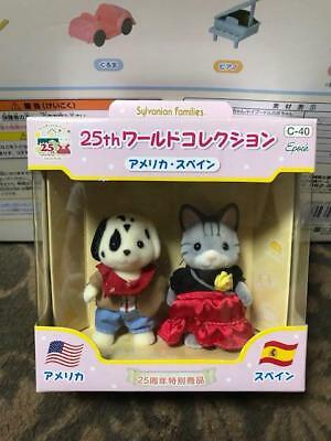 Rare Sylvanian Families Calico Critters 25th World Collection America Spain New