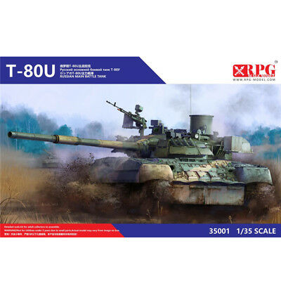 RPG 35001 1/35 Soviet/Russian T-80U main battle tank New