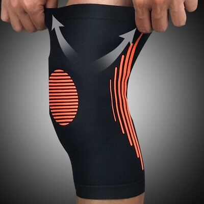 Elastic Knee Protector Compression Knee Pad Sleeve For Training Volleyball #44